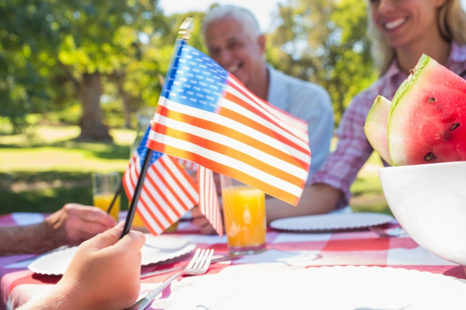Fourth of July Garden Party with Koko FitClub Fuel Nutrition Program